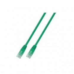 318167, Пач кабел Cat.5e 0,5m UTP зелен, IC Intracom