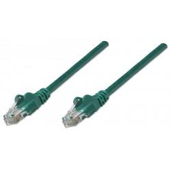 318945, Пач кабел Cat.5e 1m UTP зелен, IC Intracom