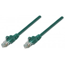 343718, Patch cable Cat.6 5m UTP зелен, IC