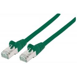 331791, Пач кабел Cat.5e 0.5m FTP зелен, IC