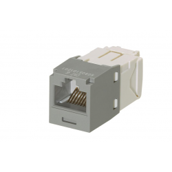 CJ688TGIG, Category 6, RJ45, 8-position, 8-wire universal module. International Gray.