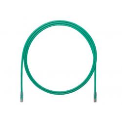 UTP6A2MGR, Пач кабел UTP Cat.6A 2м зелен, Panduit