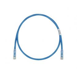 UTPSP1MBUY, Пач кабел UTP Cat.6 1m син, Panduit