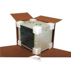 "LN-PR07U6045-LG, ProLine 7U 19"" 600x450 комуникационен шкаф"