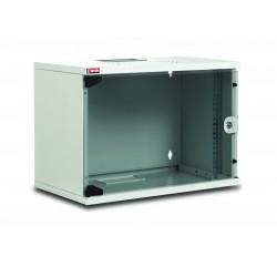 """LN-SH09U5450-LG-F3-X, LANDE, 9U 19"""" SOHO шкаф 540x500 перф.врата, Комуникационен шкаф (rack)"""
