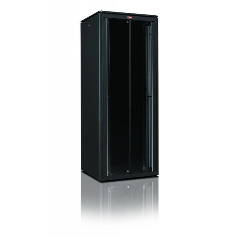 """LN-SR42U8010-BL-511, LANDE, 42U 19"""" Server 800x1000 Glass FD Perf RD"""