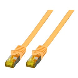 MK7001.10Y, Пач кабел Cat.7 SFTP 10m жълт, EFB