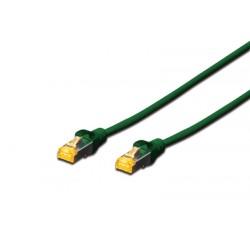 DK-1644-A-070/G, Пач кабел Cat.6A 7m SFTP зелен, Assman