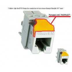 N429.627, Преходна капачка за LANmark конектор 2-2,25,