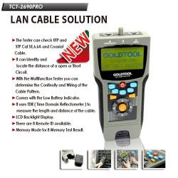 LCD тестер за кабел и дължина