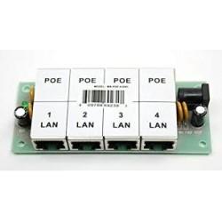 4POE, POE 4 порта панел