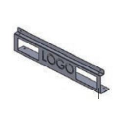 LN-KDG-60C-LG, Декоративен преден панел w600, сив