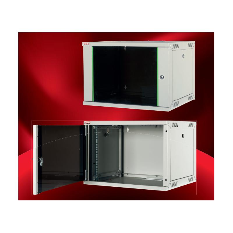 "LN-EUBOX07U5460-LG-1, LANDE-EURO BOX, 7U 19"" Wall Mount 540x600 mm"