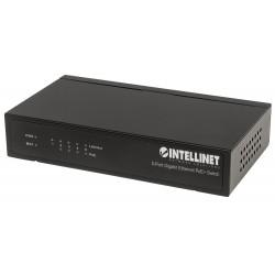 561228, 5 портов POE+ суич gigabit 60W