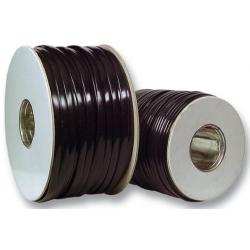 91104.100 / 92804.100, Плосък телефонен кабел 4ж, 100м черен, EFB