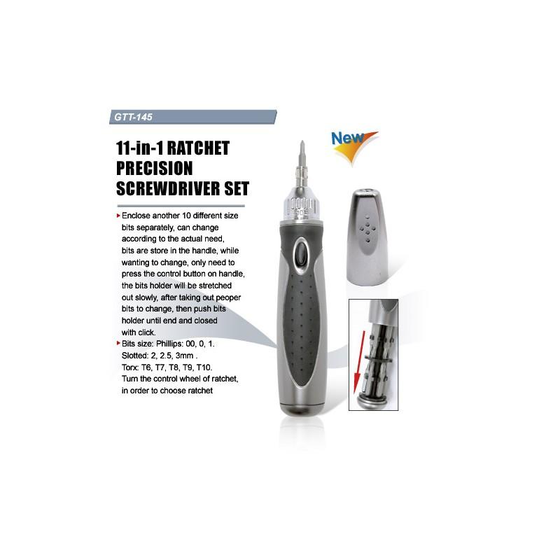 GTT-145, Комплект отверки 11 в 1