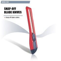 GKN-102, Макетен нож с едно острие червен