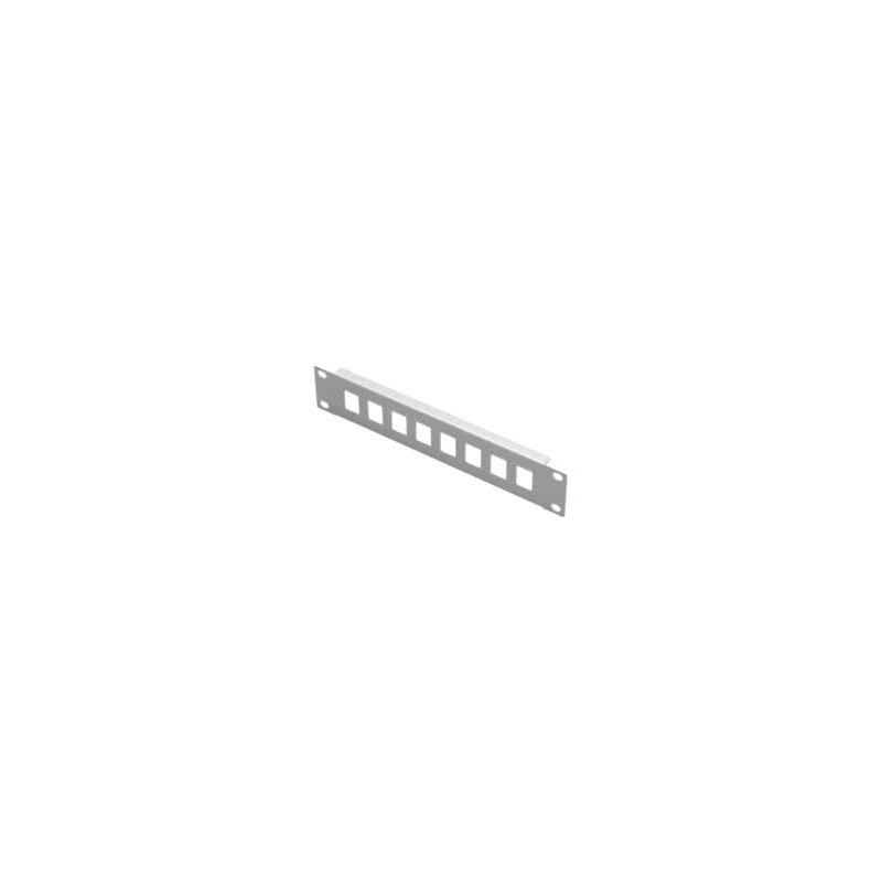 "LN-PNL-SPP-1U8P-BL, 10"" 8 порта празен панел RJ45, LANDE"