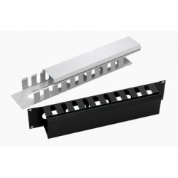 "LN-KDG-YKD-1UKZ-BL, 19"" 1U Аранжиращ панел метален тип канал, LANDE"