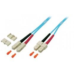 O7413.3-2.0, Оптична корда дуплекс SC-SC 50/125, OM3, 3m, EFB