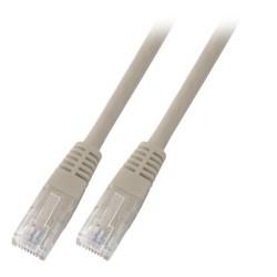 K8456.1.5, Пач кабел Cat.5e 1.5m UTP сив, EFB