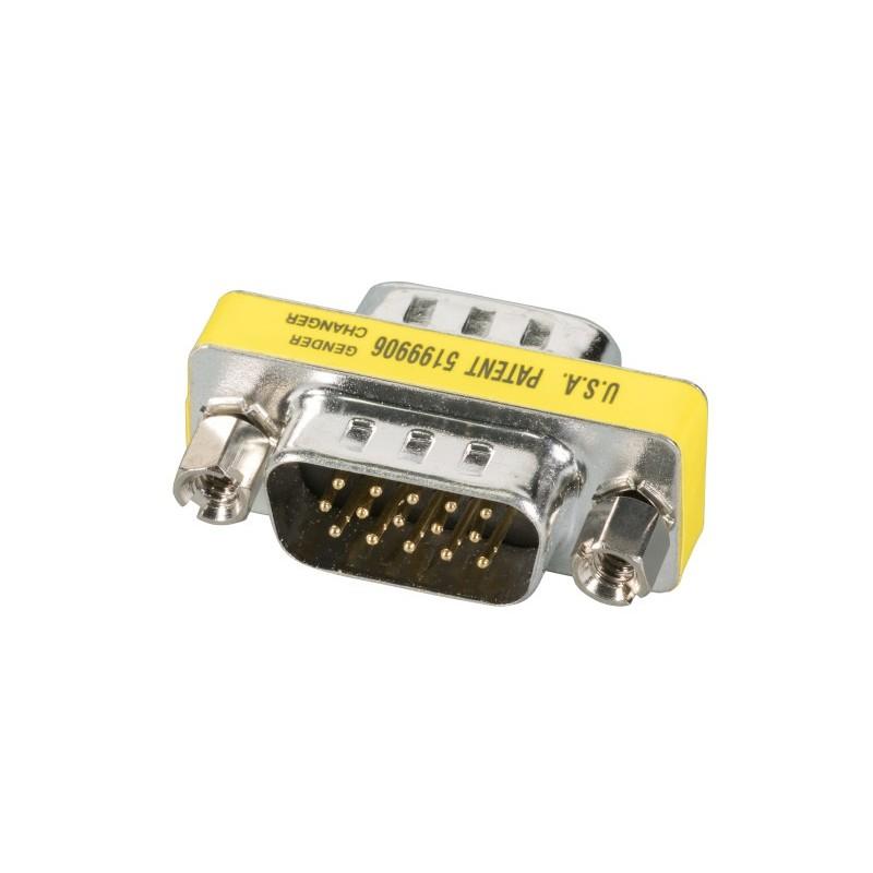 EB410MF, Mini Gender changer DSub9, M-F