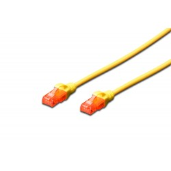 DK-1617-020/Y, Patch cable Cat.6 2m UTP жълт LSZH, Assmann