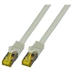 MK7001.0.5G, Пач кабел Cat.6A 0.5m SFTP сив, EFB