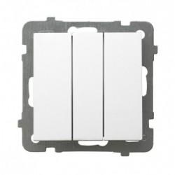 LP-13G/m/00, Троен ключ,  AS бял