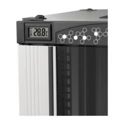 LN-THM-ELC-800, Цифров терм. 0-35C - монтаж  в пр.конзола ,черен