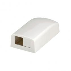 CBX2AW-AY, Mini-Com® surface mount box accepts two Mini-Com® Modules.