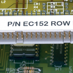 C195X040Y1J, Laser/ink jet етикет 49.5x10.2mm, бял
