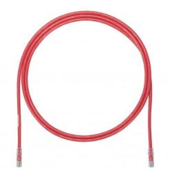 UTP6A3MRD, Пач кабел UTP Cat.6 3m червен, Panduit