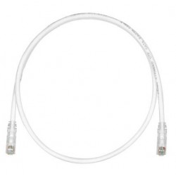 UTPSP1MY, Пач кабел UTP Cat.6 1m сив, Panduit