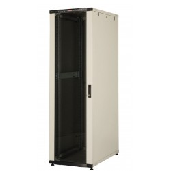 LN-CK32U6010-BL, LANDE_CK, 32U 19`` Server Glass.Doors 600x1000mm, Сървърен шкаф (rack)