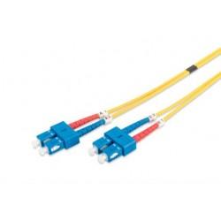 DK-2922-01, Оптична корда дуплекс 9/125 SC-SC 1m, Assmann