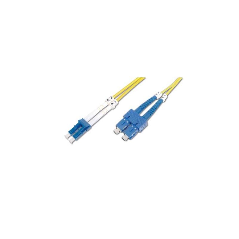 DK-2922-02, Оптична корда дуплекс 9/125 SC-SC 2m, Assmann