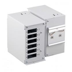 53705.1V3, Оптична кутия за DIN шина (без преден панел) EFB
