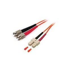 HYC-6FCSC-2, Оптична корда дуплекс 62.5/125 FC-SC, 2m, Hyc