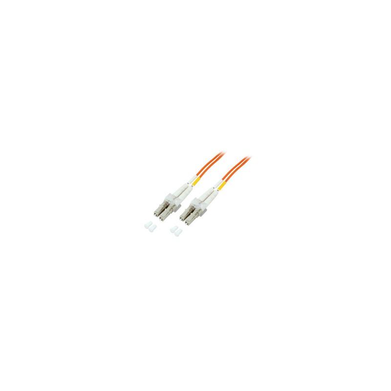 O0310.10, Оптична корда дуплекс 50/125 LC-LC, 10m LSZH EFB