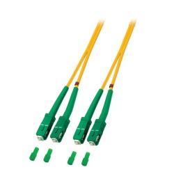O2561.7, Оптична корда дуплекс 9/125 SC/APC - SC/APC 7m,