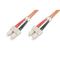 TF-5SCSC-10L, Оптична корда дуплекс 50/125 SC-SC, 10m, TF