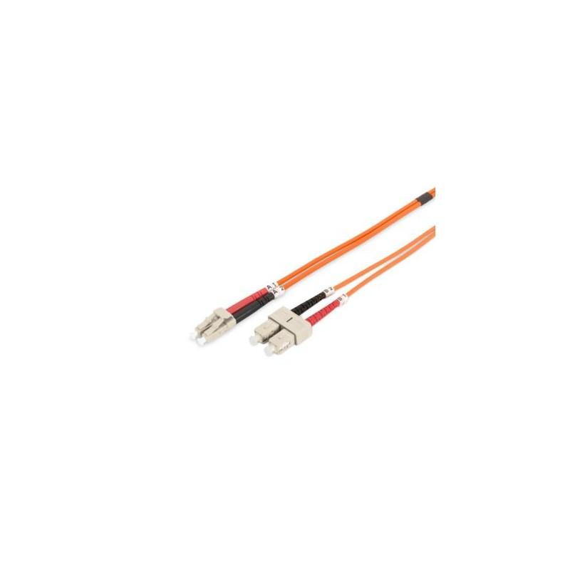TF-5LCSC-01L, Оптична корда дуплекс 50/125 LC-SC, 1m, TF