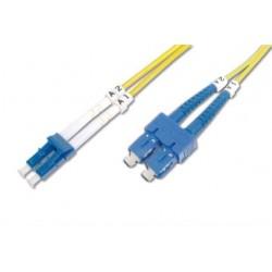 TF-9LCSC-03L, Оптична корда дуплекс 9/125 LC-SC, 3m, TF