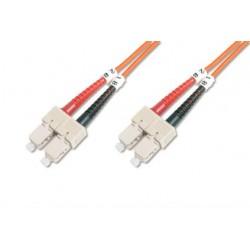 TF-6SCSC-2, Оптична корда дуплекс 62.5/125 SC-SC, 2m, TF