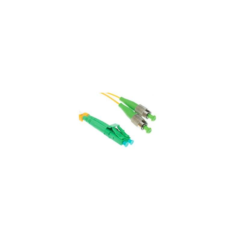 TF-9LCAPCFCAPC-1.5L, Оптична корда дуплекс 9/125  LC/APC-FC/APC 1.5m