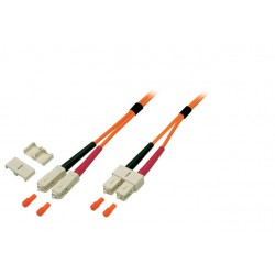 O6413.7.5, Оптична корда дуплекс 50/125 SC-SC, 7,5m EFB