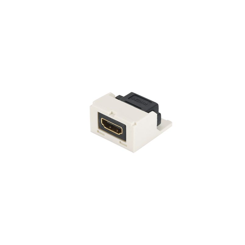 CMHDMIWH, Mini-Com® HDMI 1.4 Type A female to female category 2 coupler module, White