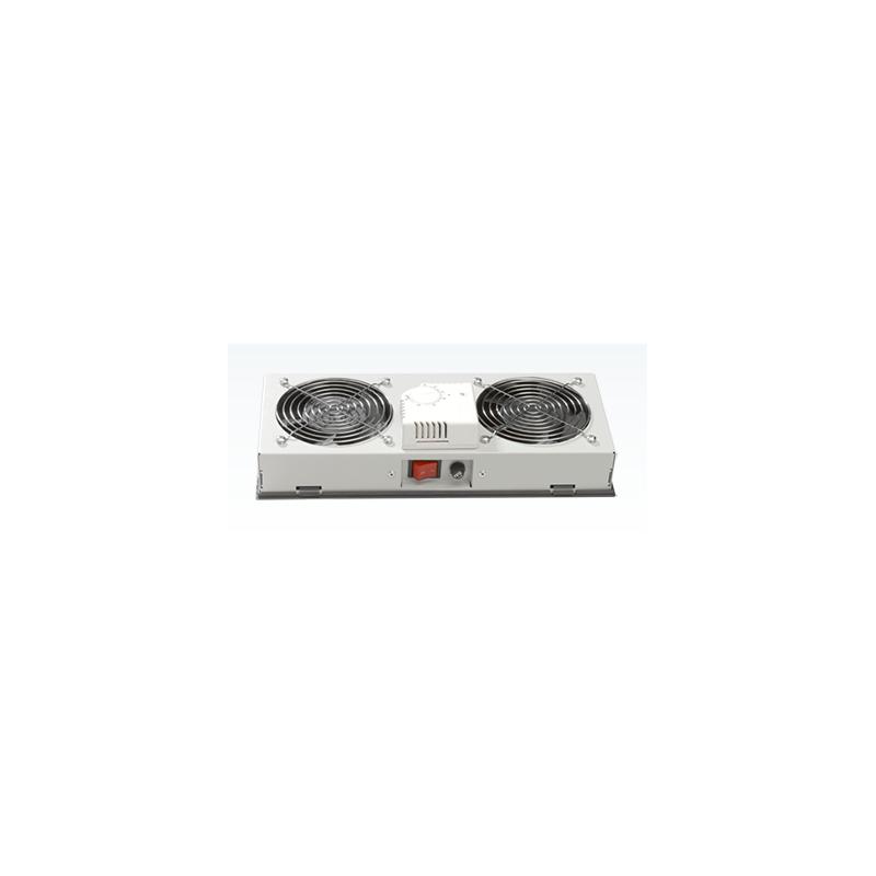 LN-FAN-THM-1FWM-LG, Вент. модул 1-ца с аналог.терм. за стенен шкаф