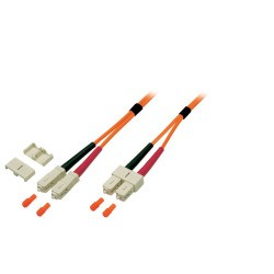 O6413.2, Оптична корда дуплекс 50/125 SC-SC, 2m EFB